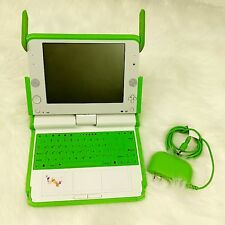 Anatel One Laptop Per Child Computer OLPC X0-1 w/ Power Supply - Tested & Works!