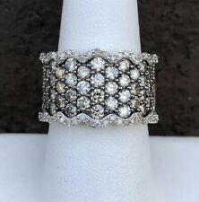 3.00CT CHOCOLATE DIAMOND LADIES RING SIZE 8
