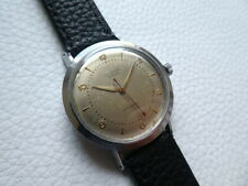 Vintage Steel UNIVERSAL GENEVE Bumper Automatic Men's dress watch from 1950's!