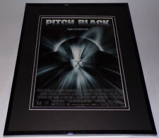 Pitch Black 2000 Vin Diesel Framed 11x14 Original Vintage Advertisement