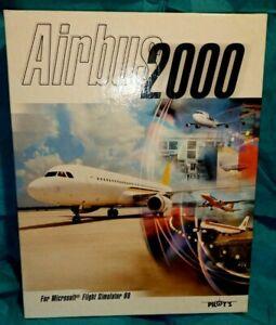 Airbus 2000 for Microsoft Flight Simulator 98  PC CD-ROM 1 Disc + User Manuals