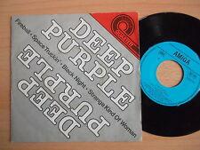 AMIGA Quartett Single:Deep Purple.Fireball/Black night/Space Truckin'/kind VG+
