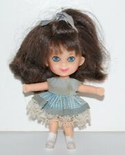 LIDDLE KIDDLE TELLY VIDDLE DOLL WITH ORIGINAL DRESS AND SHORTS