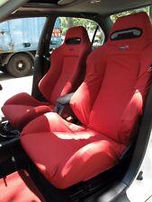 Honda Integra Type R DC2 RECARO Seats Cover 1 pc (Red/Black/Yellow/Bicolour)
