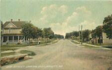 C-1910 Dun Street East Monett Missouri Residential Postcard #189959 Kingery 6097
