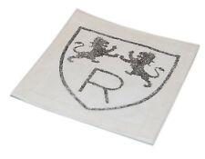Polo Ralph Lauren Rugby Vintage University Collegiate Patch Varsity Lion Black