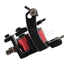 New 1PC12 Wrap 7-8V Jazz Arc Carbon Steel frame tattoo Coils Machine Gun Shader