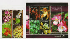 Philippine Stamps 2017 Endemic Flowers Complete set MNH