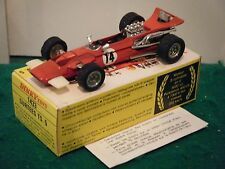 """French dinky no: 1433 """"surtees TS5 voiture de course"""" - rouge (original années 1970)"""