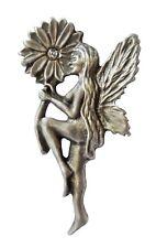 Flower Fairy Pewter Pin Badge