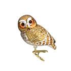 Old World Christmas PYGMY OWL (18067)N Glass Ornament w/OWC Box