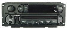 EQ 03 04 CHRYSLER Stock Radio AM/FM CD Player Factory OEM Stereo Satellite RBK
