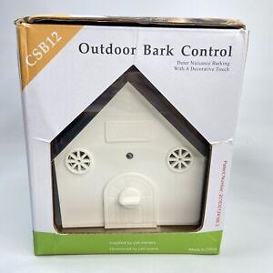 Ultrasonic Dog Bark Control Anti Barking Device Hang Or Mount CSB12 Outdoor