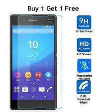 BUY 1 GET 2 Premium Tempered Glass Screen Protector for Sony Xperia XZ F8331 NEW