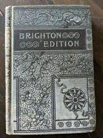 Man in Black Stanley J. Weyman Brighton Edition Vintage Ornate Hardcover
