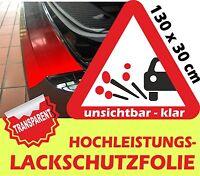 Lackschutzfolie transparent Ladekantenschutz Steinschlagschutzfolie 130 x 30 cm