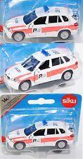 Siku 1466 03900 BMW X5 4.8i Notarzt-Geländewagen POLIZEI / KANTON / SOLOTHURN