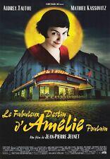 Affiche Pliée 120x160cm LE FABULEUX DESTIN D'AMÉLIE POULAIN (2001) Tautou NEUVE