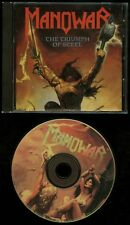 Manowar The Triumph Of Steel CD BMG Record Club USA pressing