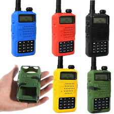 5Pcs Silicone Walkie Talkie Soft Case Cover for Baofeng BF-UV5R/5RA/5RB/5RC