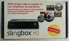 Slingbox M2 Media Streamer Black Wi-Fi Enabled HD 1080p NIOB