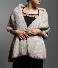 Fur Solid Scarves Stole for Women
