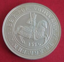 More details for 1551 edward vi crown - 2006 hallmarked silver proof facsimile