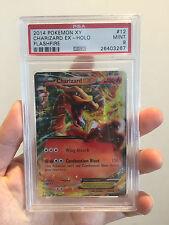 PSA 9 Charizard EX XY Flashfire Ultra Rare Holo #12 2014 Pokemon Card