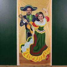 FIESTA Cinco De Mayo Mariachi Party COUPLE Photo Photograph Prop Door Banner