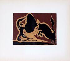 Pablo Picasso Linocut / Linogravure Picador II First Edition 1962