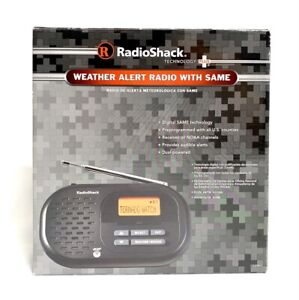 Radio Shack Weather Alert Radio with Same Technology NOAA Preprogrammed 1200991
