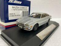1/43 HI STORY HS035SL MAZDA COSMO AP SUPER CUSTOM (1975) SILVER model car