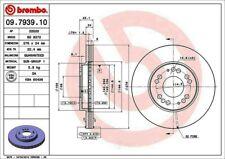 Disc Brake Rotor-Premium OE Equivalent Rotor Front Brembo 09.7939.10