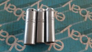 STAHLWILLE VINTAGE 3/8 DR DEEP SOCKETS MADE IN GERMANY