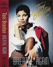 TONI BRAXTON BREATHE AGAIN CASSETTE SINGLE Hip Hop Funk / Soul RnB/Swing