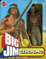 BIG JIM ☆ GERONIMO #9404 ☆ 1978 -PRODUZIONE EUROPEA - ►NEW◄ ☆RARO☆ PERFECT
