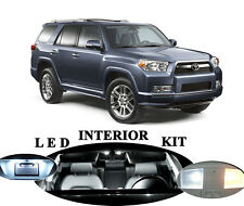 LED Package - Interior + License Plate + Vanity for Toyota 4 Runner (17 pieces)