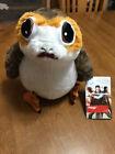 Star Wars: The Last Jedi  Disney Store Plush Porg - 9 inches  Sooo Cute  NEW