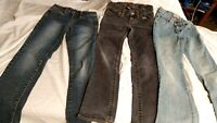 Lot of 3 Girls Jeans Size 8 Slim/Reg Excellent Condition, Gap, Place, So Skinny