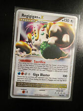 PL Pokemon REGIGIGAS LV.X Card STORMFRONT Set 100/100 Diamond and Pearl DP HP150