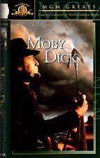 Moby Dick (1956) VHS MGM John Huston Gregory Peck, Richard Basehart