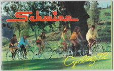 Schwinn Cycling '72  Bicycle Catalog - 1972 - Stapled Binding - 52 Pages Vintage