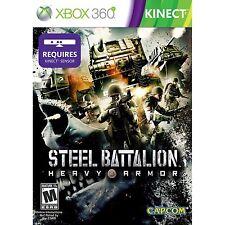 Steel Battalion Heavy Armor Kinect Xbox 360