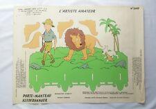 Affiche Poster Tintin 3009 Artiste Amateur Porte manteau / HERGE / BD