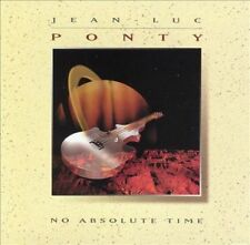 No Absolute Time by Jean-Luc Ponty (CD, Aug-1993, Atlantic (Label))