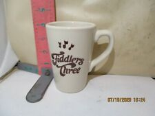 RESTAURANT MUG FROM FIDDLERS THREE - BURDEN CHINA , SOCAL EX-COFFEE SHOP