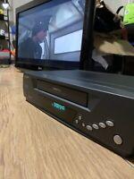 BUSH VCR912VP VCR VHS Black Vintage Retro Video Cassette Recorder Fully Tested