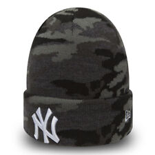 New Era MLB New York Yankees Camouflage Knit Skull Cap Cuff Fitted Beanie Hat