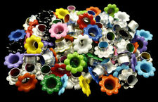 100pcs Aluminium Mixed Colors Flowers EYELET Scrapbooking CARD LeatherCraft E099