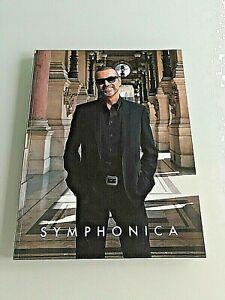 George Michael SYMPHONICA Tour his last tour Official Programme 2011-2012 RARE